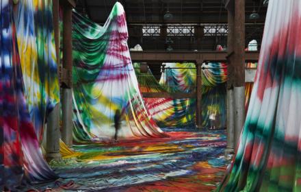 Katharina Grosse transforms Sydney
