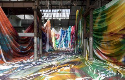 Ending soon: Katharina Grosse at Carriageworks