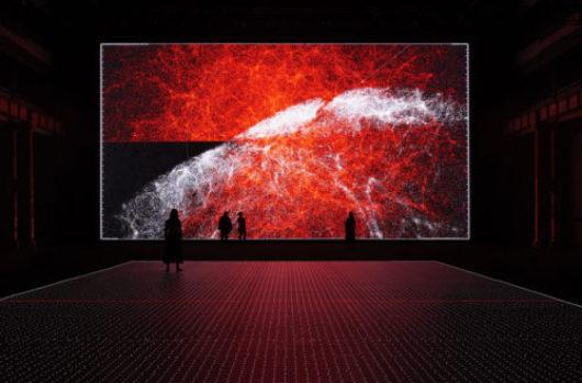Ryoji Ikeda: bending art / science