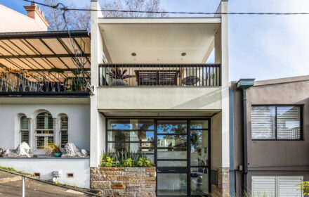 At home in an architect design