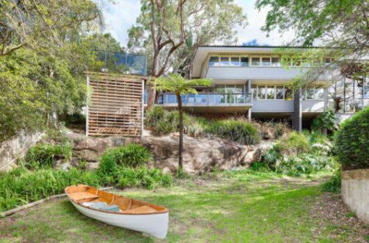An original Bruce Rickard modernist house.